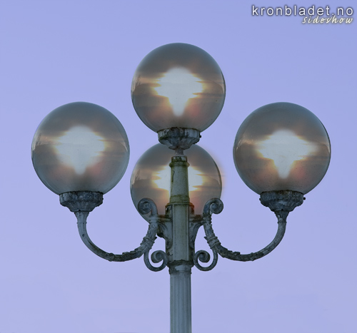 Lyktestolpe Lamp post